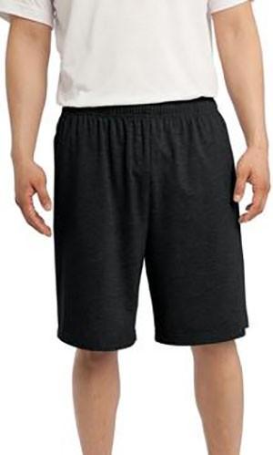 Black XS Sport-Tek ST310 Jersey Knit Short with Pockets